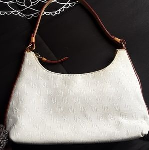 Dooney&Bourke White Purse